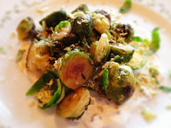 brussel sprouts four ways