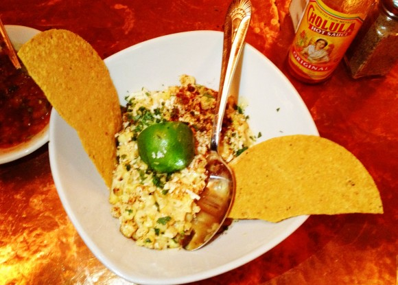 Elote Cafe's signature dish