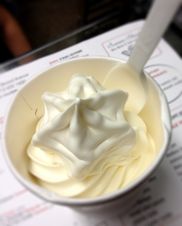fior di latte soft serve - the saving grace of the doomed Nicoletta