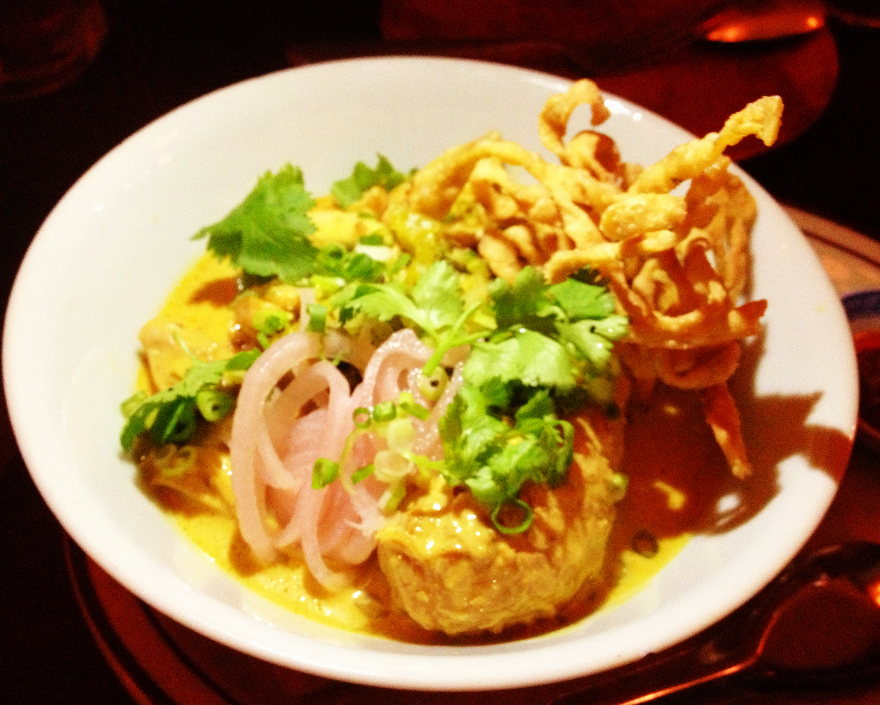 Soi Asian Bistro Menu Uncle Boons Khao Soi Kaa Kai