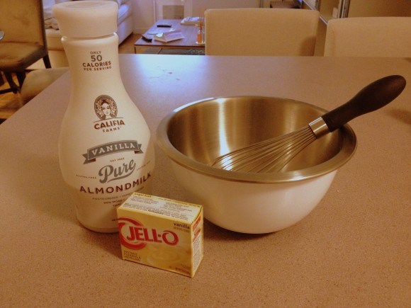 1 cronut - pudding ingredients