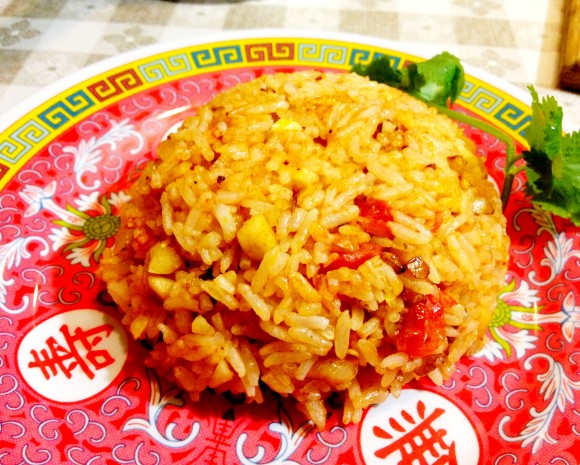 Bunker - garlic tomato fried rice
