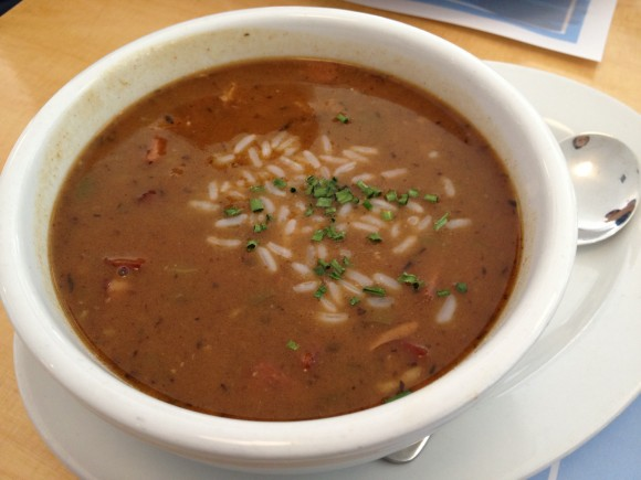 Highway Diner - chicken andouille gumbo