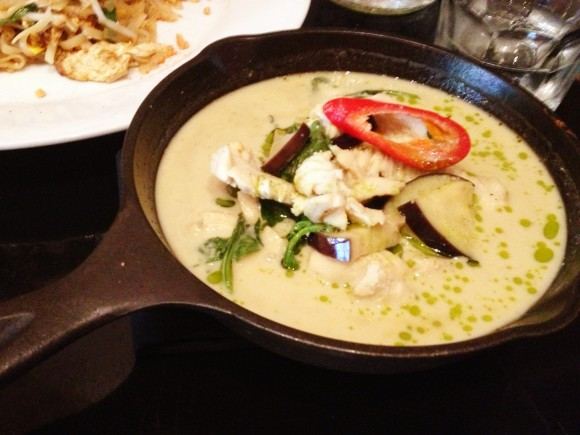 Ngam - homemade green curry