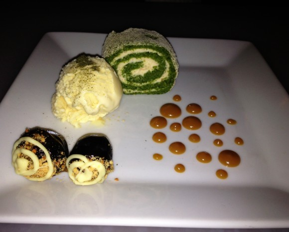 dirt candy - celery cheesecake roll