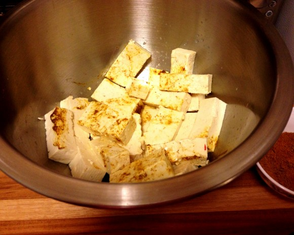curry tofu - step 4