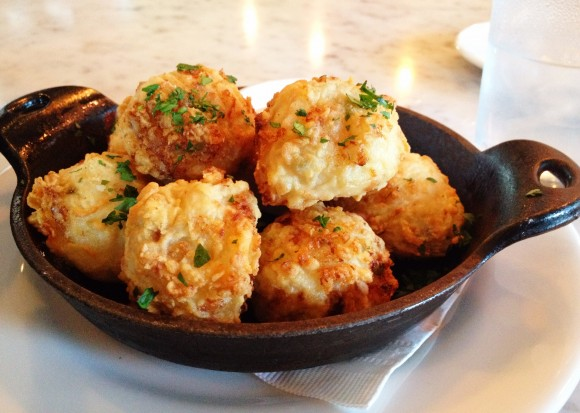 the pear - tater tots