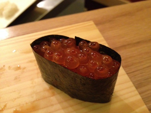 marinated salmon roe