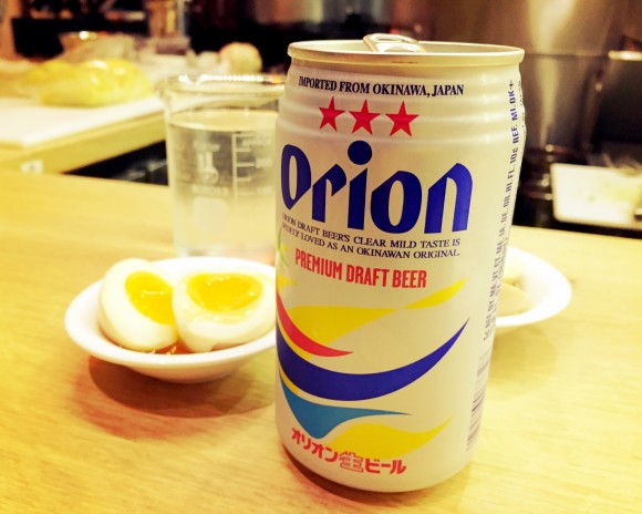 ramen lab - orion beer