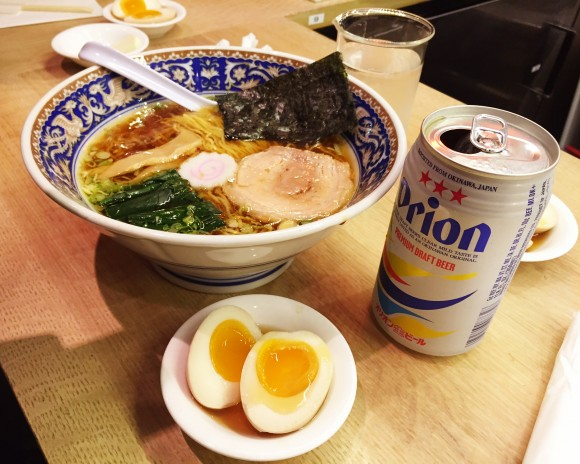 ramen lab - shoyu ramen with egg
