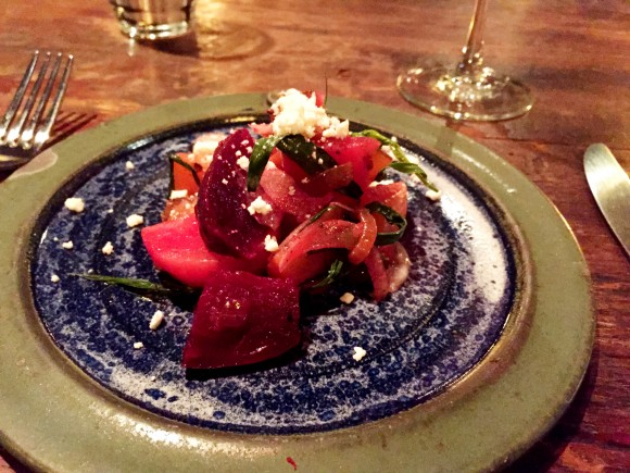 wiltshire - roasted beet salad