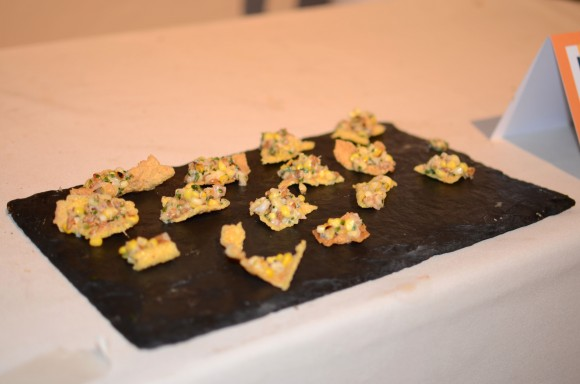 gramercy tavern's smoked bluefish and corn salad