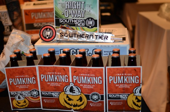 "southern tier's imperial ""pumking"" ale"