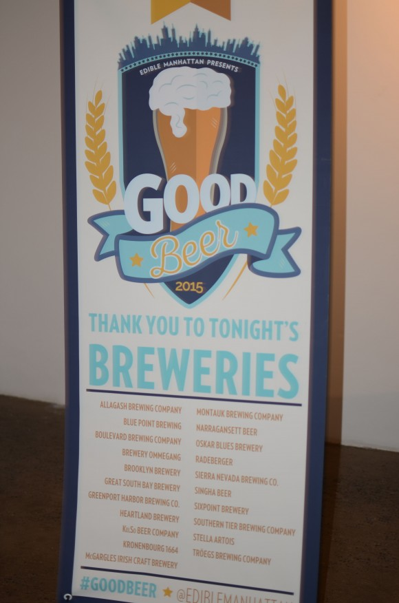good beer - vendor sign