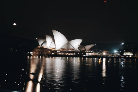 views of the opera house