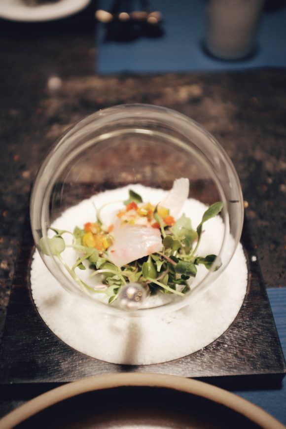 the flatfish salad