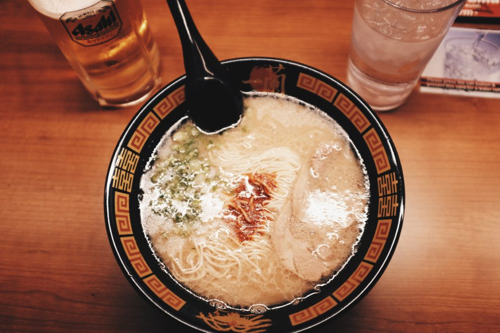 ruoxi's custom bowl of ramen
